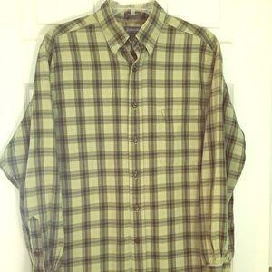 100% Cotton flannel men's shirt M